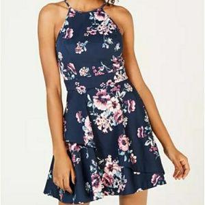 Speechless fit n flare dress